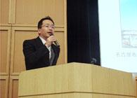 講演中の石田氏